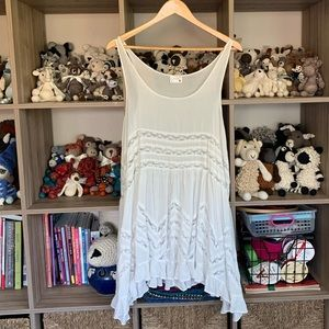 Free People Voile Tunic Tank